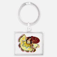 dancer Landscape Keychain
