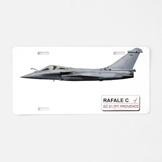 077_PROVENCE_RAFALE_C_FRANC Aluminum License Plate