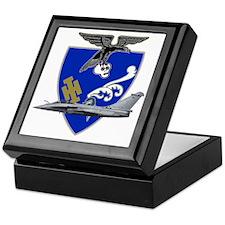Escadron de chasse_1.7_a_provence_raf Keepsake Box