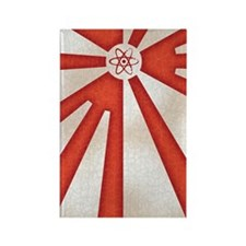 Japan-rad-flag2-iPHN Rectangle Magnet