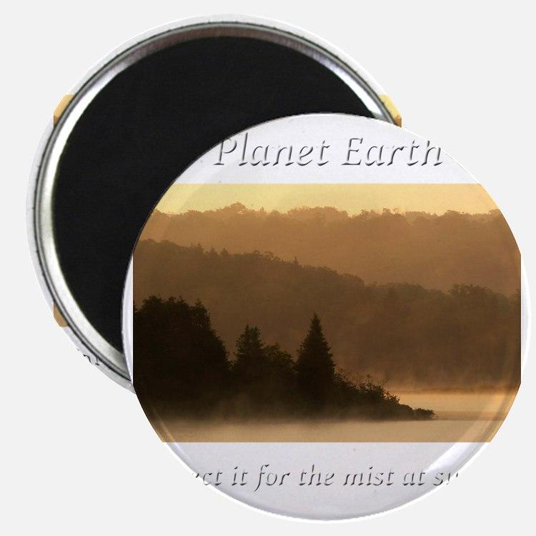 For the Mist at Sunrise-whiteLetters copy Magnet