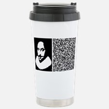 SHAKESPEARE_TO_BE Travel Mug