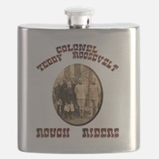 roughriders Flask