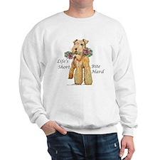 Bite Hard Lakeland Terrier Sweatshirt