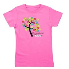 Occupational Therapist Tree bubbles Girl's Tee