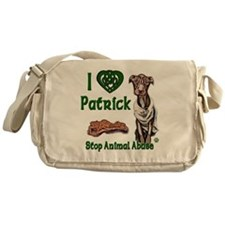 Patrick Celtic Love copy Messenger Bag