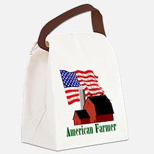 AmericanFarmer-trans Canvas Lunch Bag