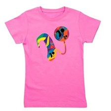 CIabstract2 Girl's Tee
