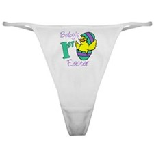 Babys First Easter Shirt Classic Thong