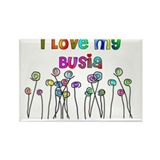 I love my Busia Rectangle Magnet