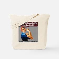 kickin Parkinsons butt Tote Bag