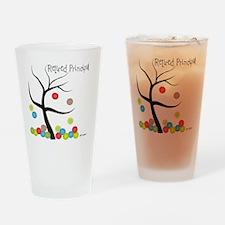 Retired Principal tree bubbles Drinking Glass