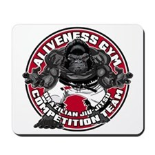 NEW ALIVENESS LOGO ROUND PATCH Mousepad