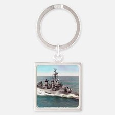 cowell framed panel print Square Keychain