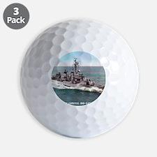 cowell framed panel print Golf Ball