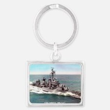 cowell large framed print Landscape Keychain