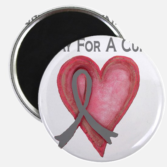 Pray for a cure 2 Magnet