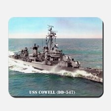 cowell greeting card Mousepad