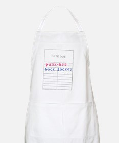 Punk-Ass Book Jockey-l Apron