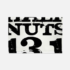 Half Nuts Rectangle Magnet