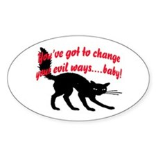 EVIL WAYS #1 Decal