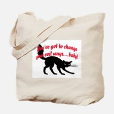 EVIL WAYS #1 Tote Bag