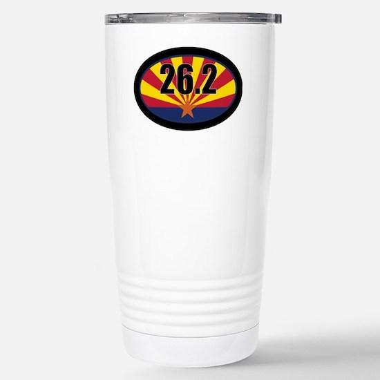 AZ-262-OVALsticker Stainless Steel Travel Mug