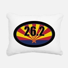 AZ-262-OVALsticker Rectangular Canvas Pillow