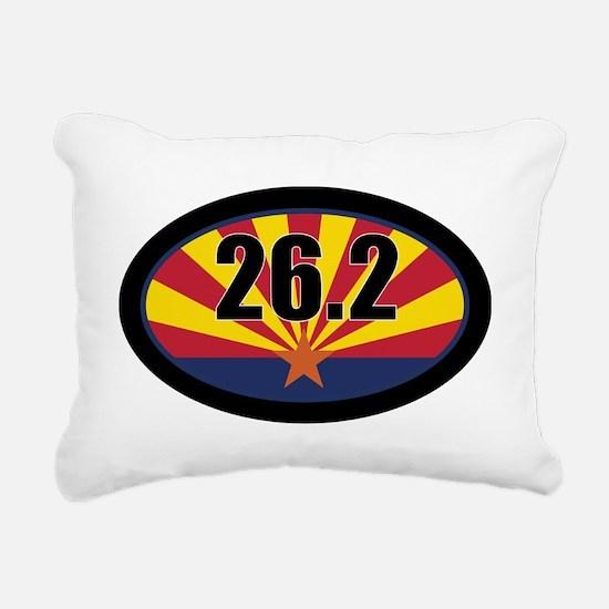 AZ-262-OVALsticker Rectangular Canvas Pillow