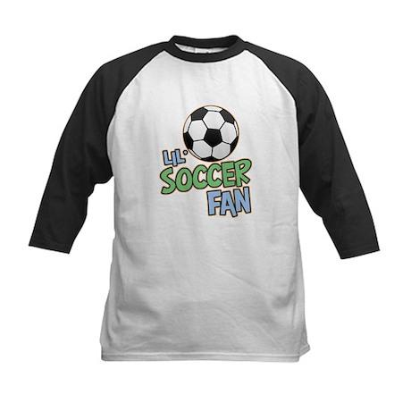 Lil' Soccer Fan Kids Baseball Jersey