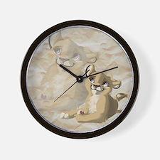 lionfriend Wall Clock