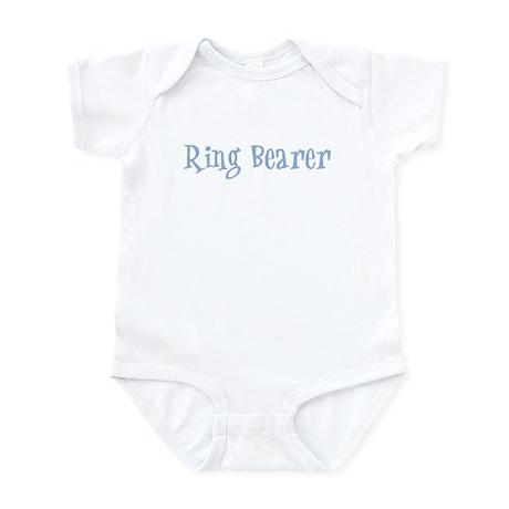 Ring Bearer - Baby Blue Retro Infant Bodysuit