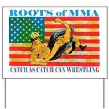 catch wrestling ready - Copy (2)3333 Yard Sign
