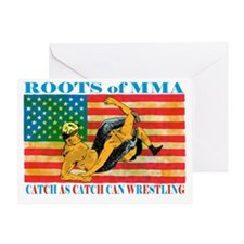 catch wrestling ready - Copy (2)3333 Greeting Card