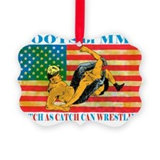 catch wrestling ready - Copy (2)3 Ornament