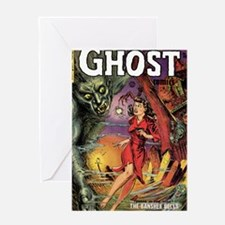 Ghost Comics 1 cover Greeting Card