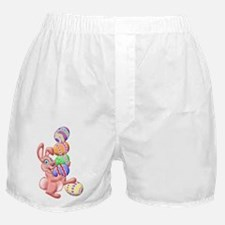 Juggling Eggs Easter Bunny Boxer Shorts