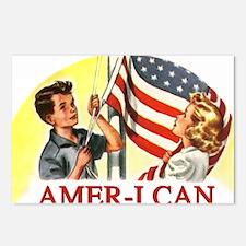 allamerican2 Postcards (Package of 8)