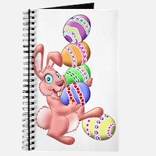 Juggling Eggs Easter Bunny Journal