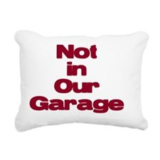 Garage Rectangular Canvas Pillow