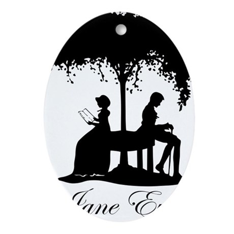 Jane Eyre Oval Ornament