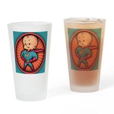 super-baby-CRD Drinking Glass