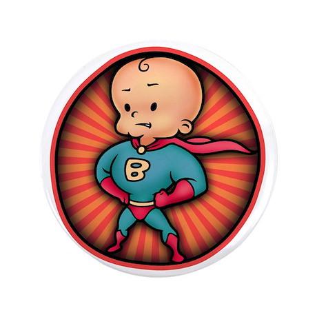 "super-baby-T 3.5"" Button"