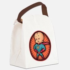 super-baby-T Canvas Lunch Bag