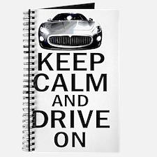 Maserati Keep Calm Journal