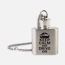 Maserati Keep Calm Flask Necklace