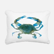bluecrab Rectangular Canvas Pillow