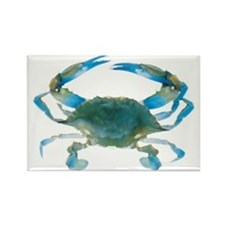 bluecrab Rectangle Magnet
