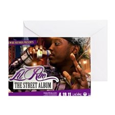 Lil Rue STreet Album poster Greeting Card