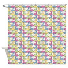 Aplin Bunnies Shower Curtain